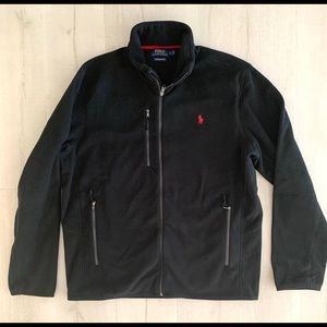 Ralph Lauren performance black fleece jacket large